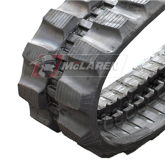 Maximizer rubber tracks for Komatsu PC 40 FR-1