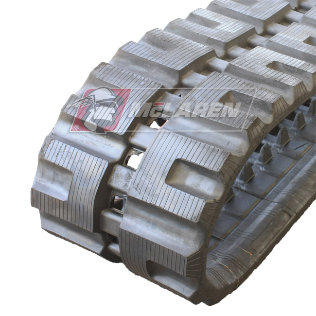 Maximizer rubber tracks for Caterpillar MS 040