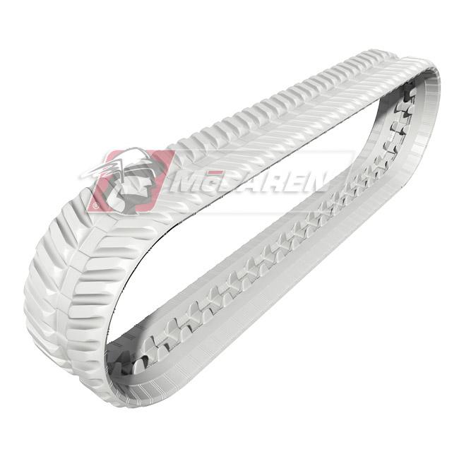 Next Generation Non-Marking White rubber tracks for Hinowa LIGHT LIFT 19.65 IIIS