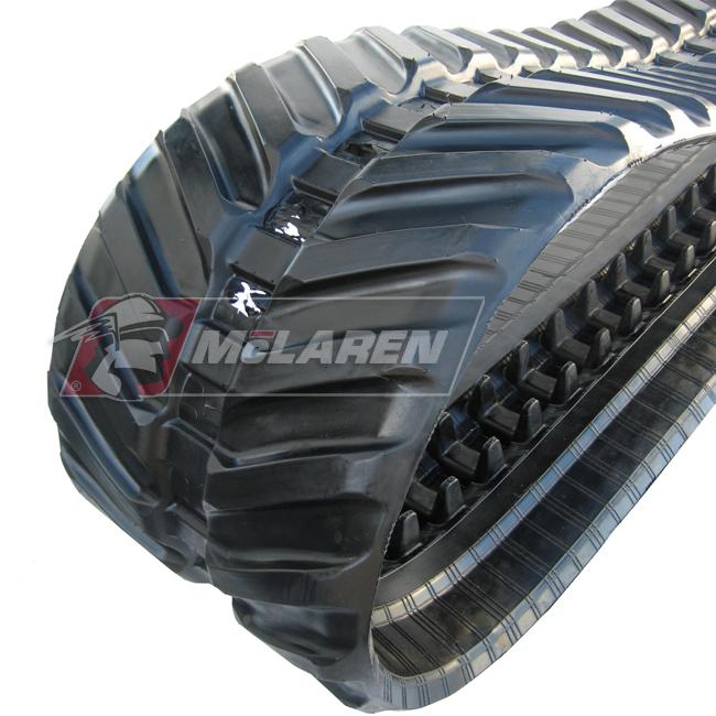 Next Generation rubber tracks for Takeuchi TB008