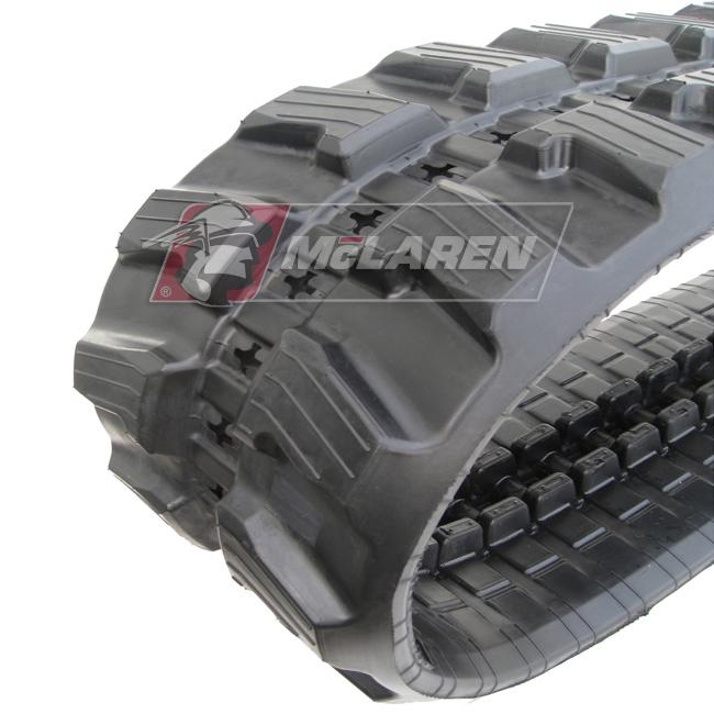 Next Generation rubber tracks for Mecalac 8MCR