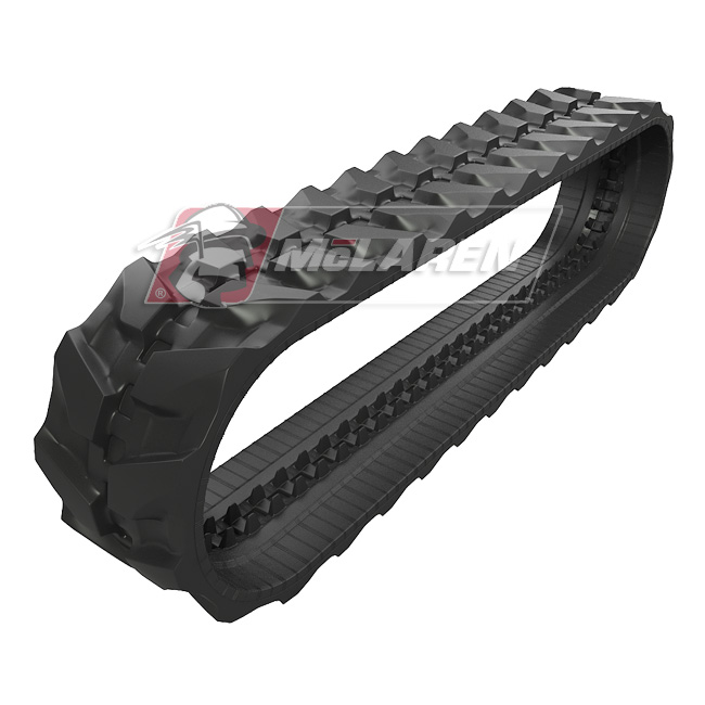 Next Generation rubber tracks for Case CX 18B