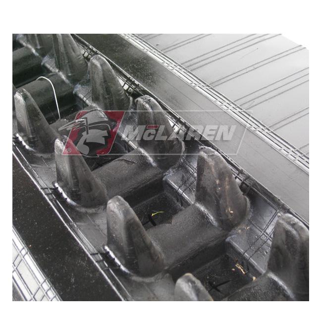 NextGen TDF Track Loader rubber tracks for Hitachi EX 50 UR-2