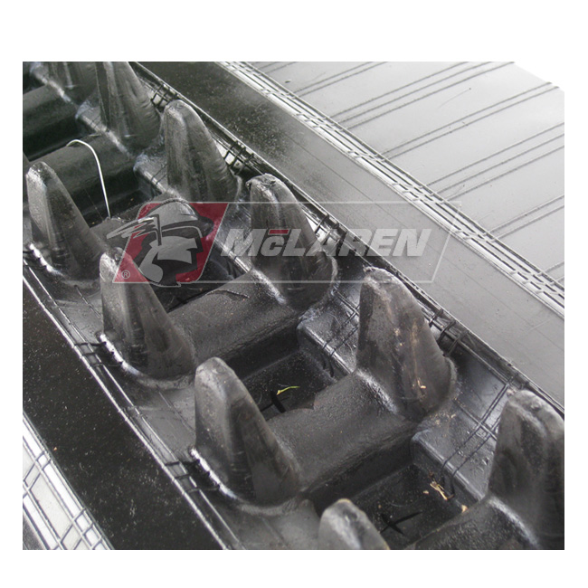 NextGen TDF Track Loader rubber tracks for Hokuetsu HM 45