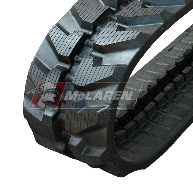 Radmeister rubber tracks for Chikusui CC 450