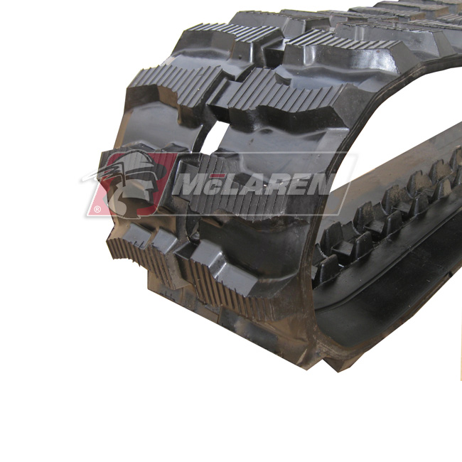 Maximizer rubber tracks for Komatsu PC 30-5