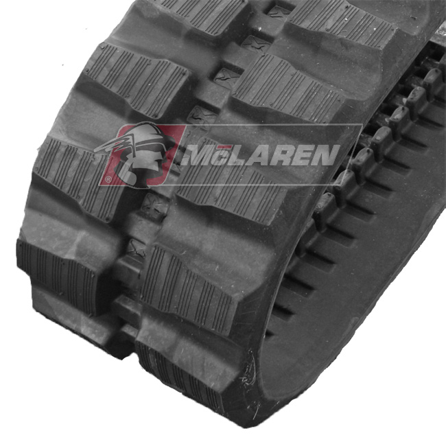 Maximizer rubber tracks for Kubota KX 121-3