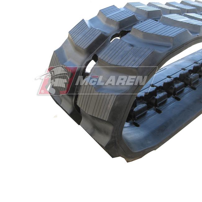 Maximizer rubber tracks for Komatsu PC 40-1