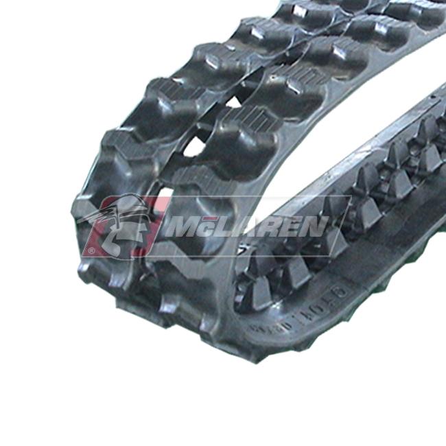 Maximizer rubber tracks for Sato SC 156 DD