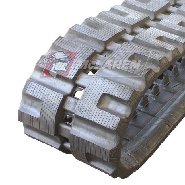 Maximizer rubber tracks for John deere 323 D