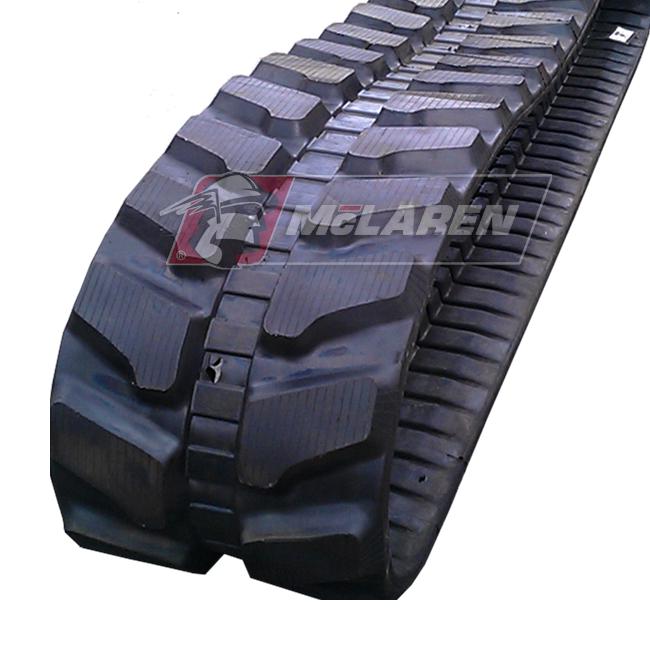 Next Generation rubber tracks for Hitachi EX 60 LC-7