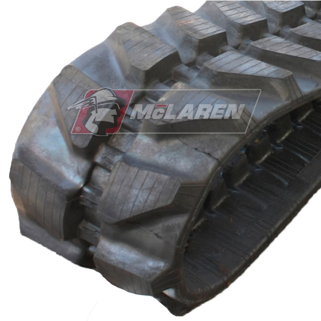 Maximizer rubber tracks for Komatsu PC 12 R-8 MISTRAL HS