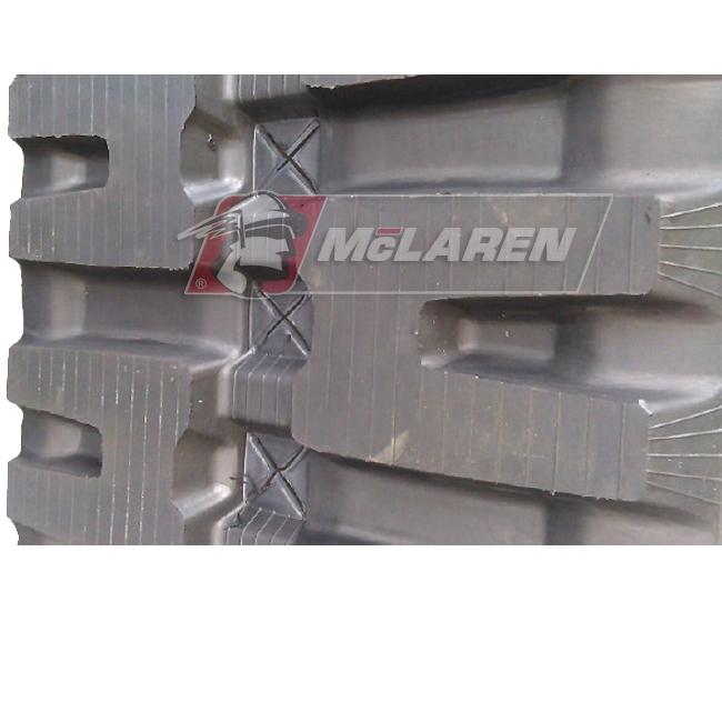 Maximizer rubber tracks for Jcb 1110