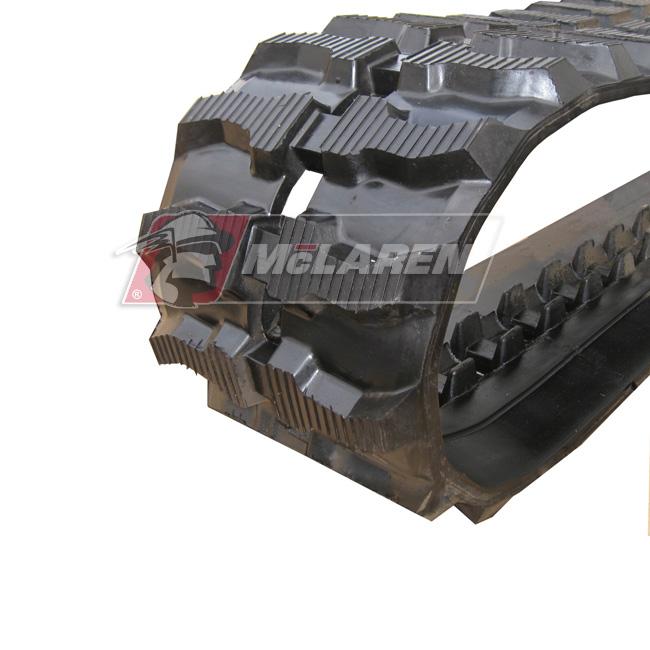 Maximizer rubber tracks for Jcb 803.2