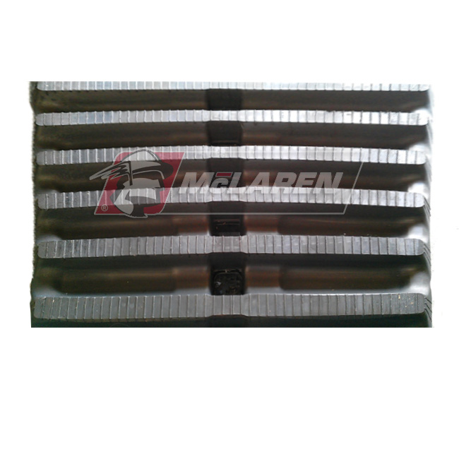 Maximizer rubber tracks for Komatsu MST 1100