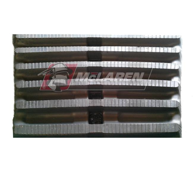 Maximizer rubber tracks for Morooka MST 1500