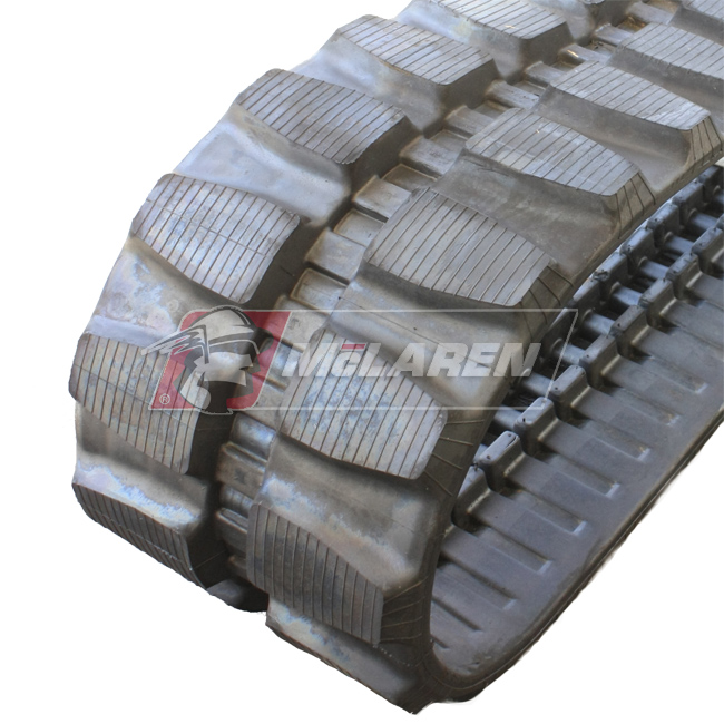 Maximizer rubber tracks for Komatsu PC 10-7E