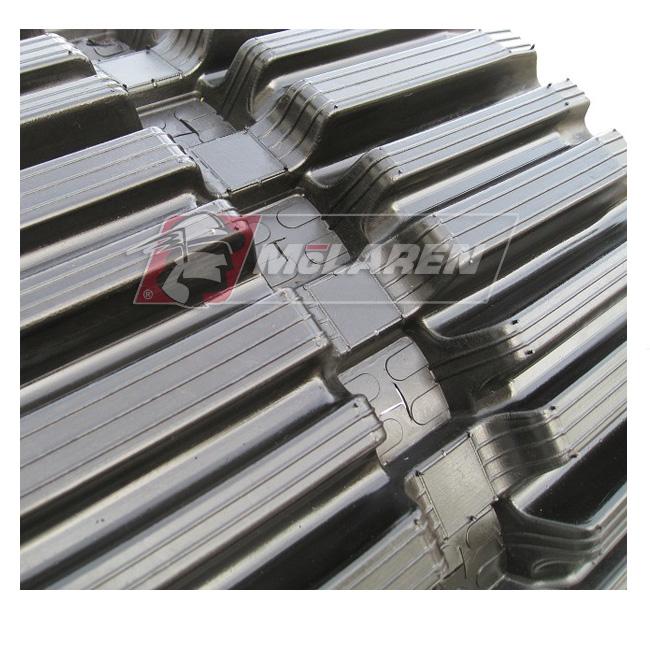 Maximizer rubber tracks for Baraldi FB 102 EB