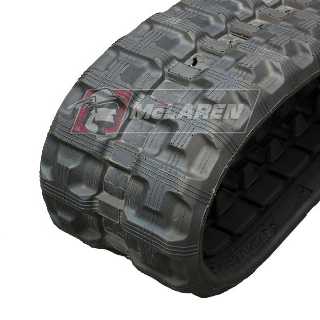 Next Generation rubber tracks for Case TU 370