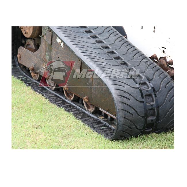 NextGen Turf rubber tracks for Caterpillar 249