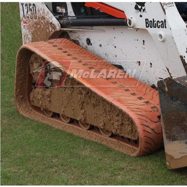 NextGen Turf Non-Marking rubber tracks for Mustang 1750RT