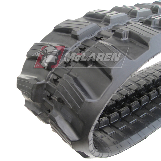 Next Generation rubber tracks for Ausa MH 55