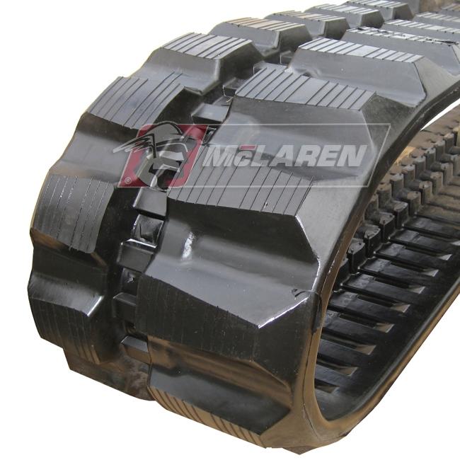Maximizer rubber tracks for Hitachi EX 40 URG