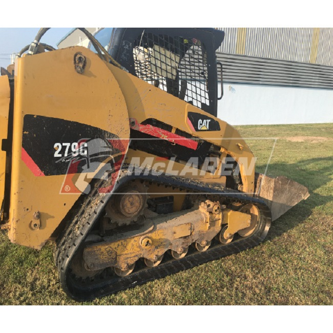 Next Generation rubber tracks for Caterpillar 229 D