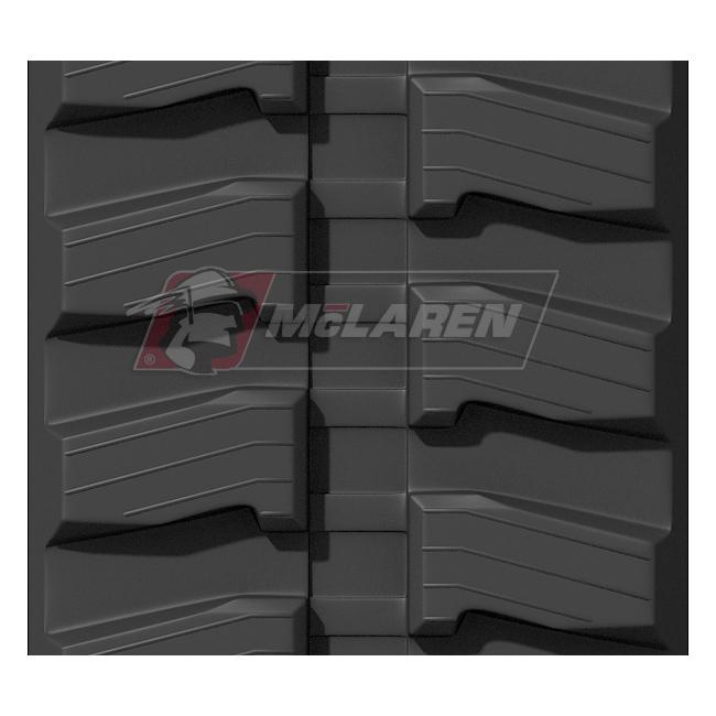 Maximizer rubber tracks for Kubota KH 91
