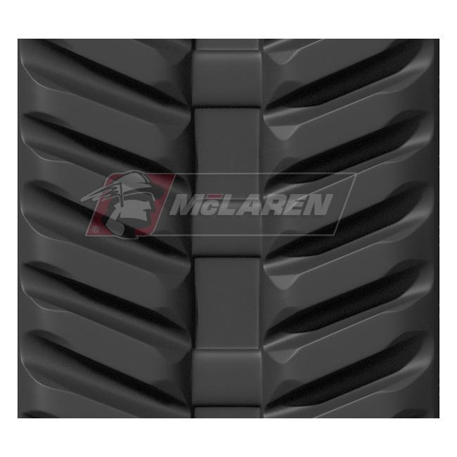 Next Generation rubber tracks for Kubota U 10