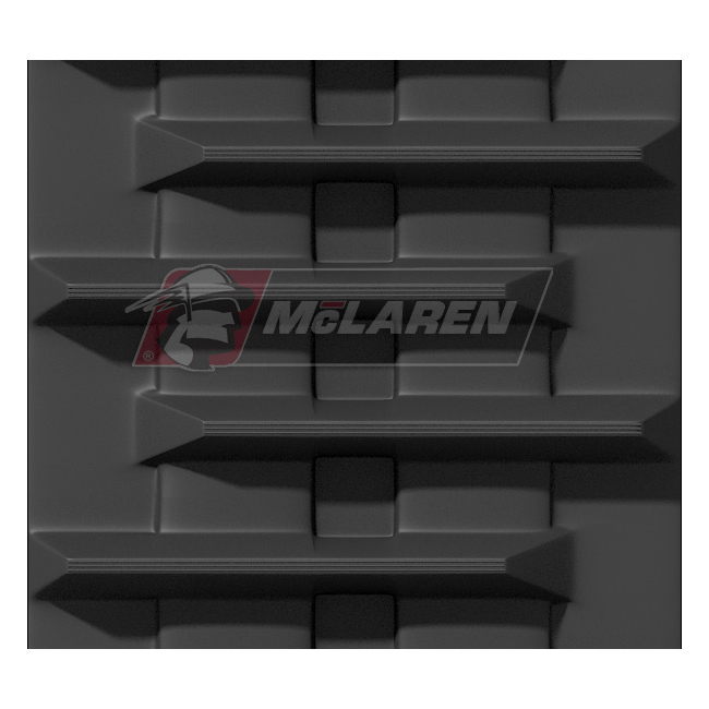 Next Generation rubber tracks for Hydromac C 8000