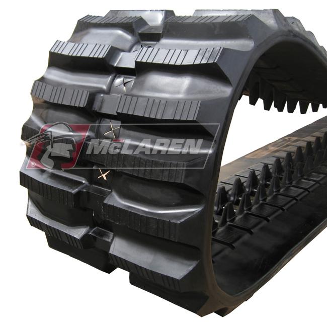 Next Generation rubber tracks for Takeuchi TL226