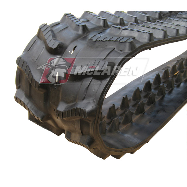 Next Generation rubber tracks for Hanix H 08