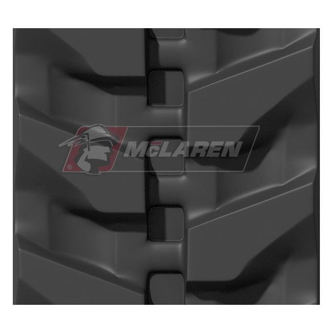 Next Generation rubber tracks for Hitachi ZX 17 U-2 YLR