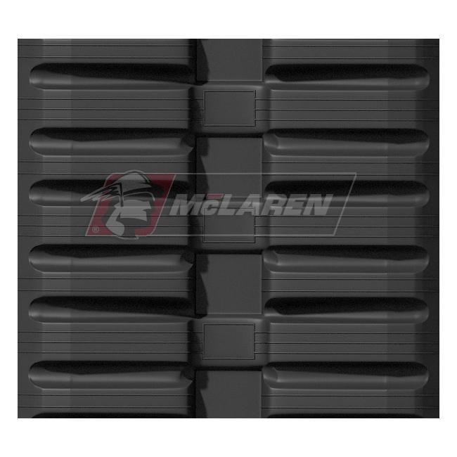 Maximizer rubber tracks for Hinowa DM 15