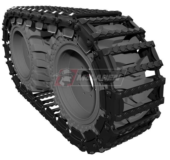 Set of Maximizer Over-The-Tire Tracks for Melroe 843B