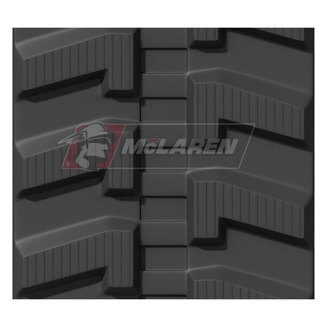 Maximizer rubber tracks for Jcb 8035 ZTS
