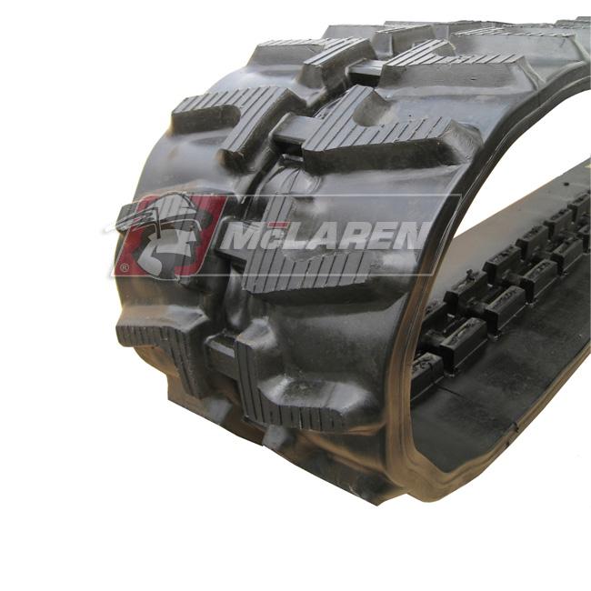 Next Generation rubber tracks for Mitsubishi MM 25