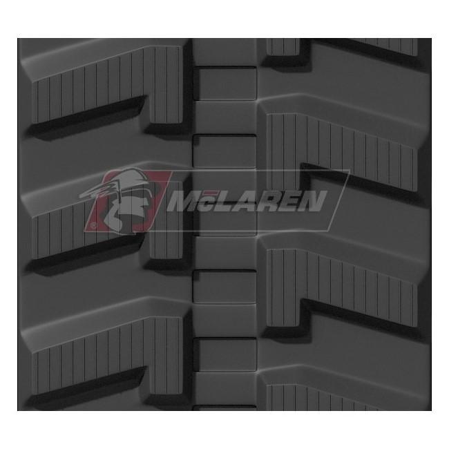 Radmeister rubber tracks for Yanmar MCG 111 F