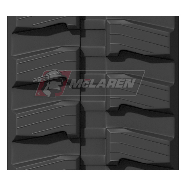 Next Generation rubber tracks for Doosan DX 55