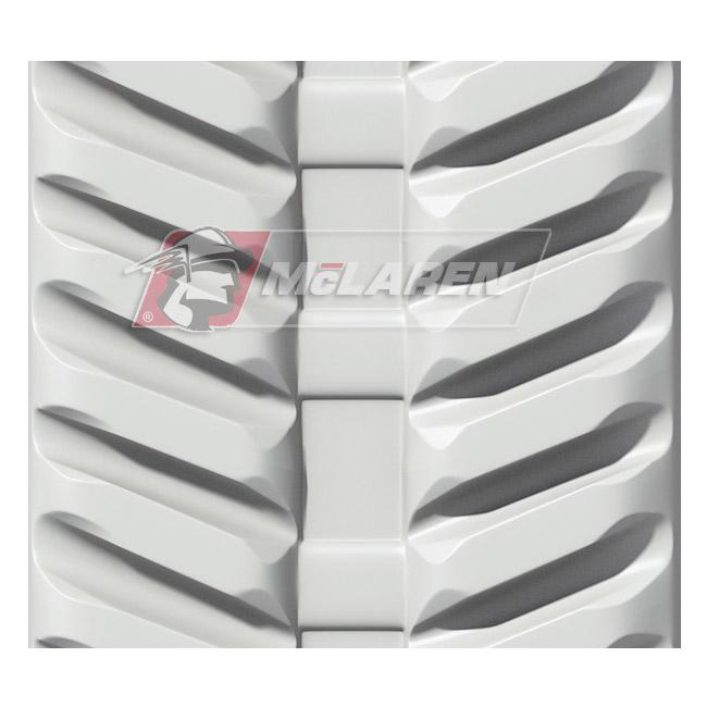 Next Generation Non-Marking White rubber tracks for Kobelco 09 SR