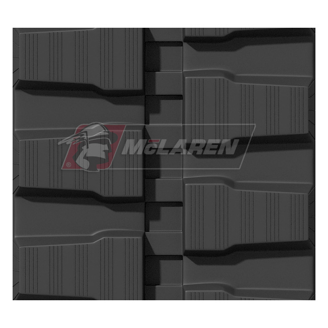 Maximizer rubber tracks for Fermec SK 035