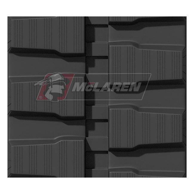 Maximizer rubber tracks for Kubota KX 121-3A