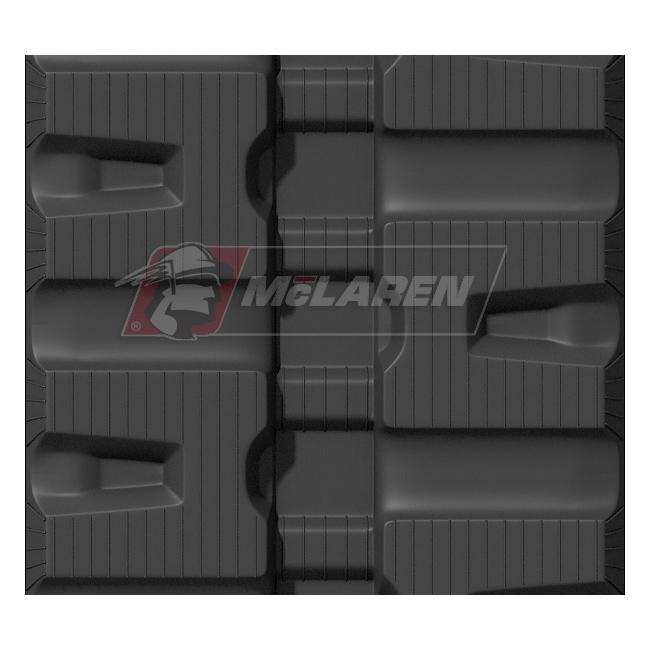 Maximizer rubber tracks for Komatsu CK 35-1
