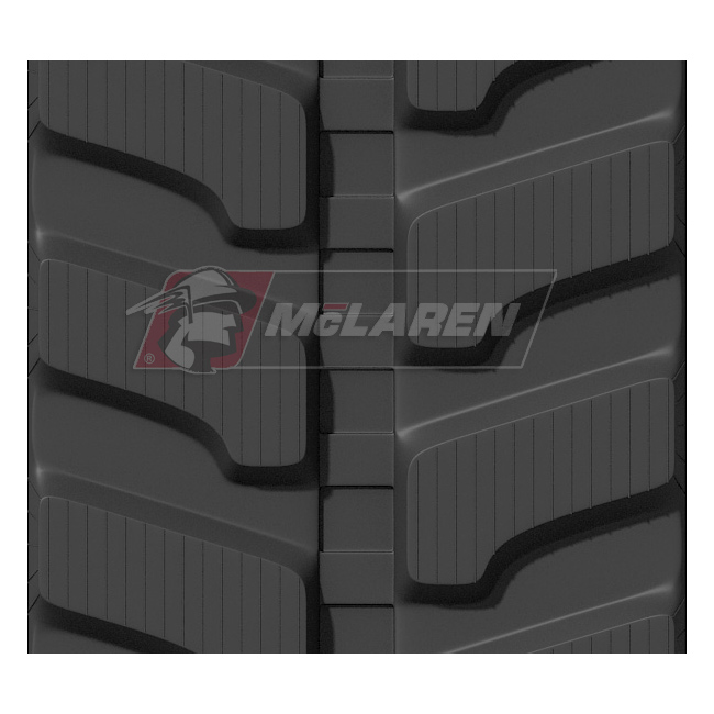 Next Generation rubber tracks for Case CK 82
