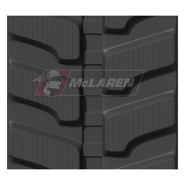 Next Generation rubber tracks for Hitachi EX 60-2/1