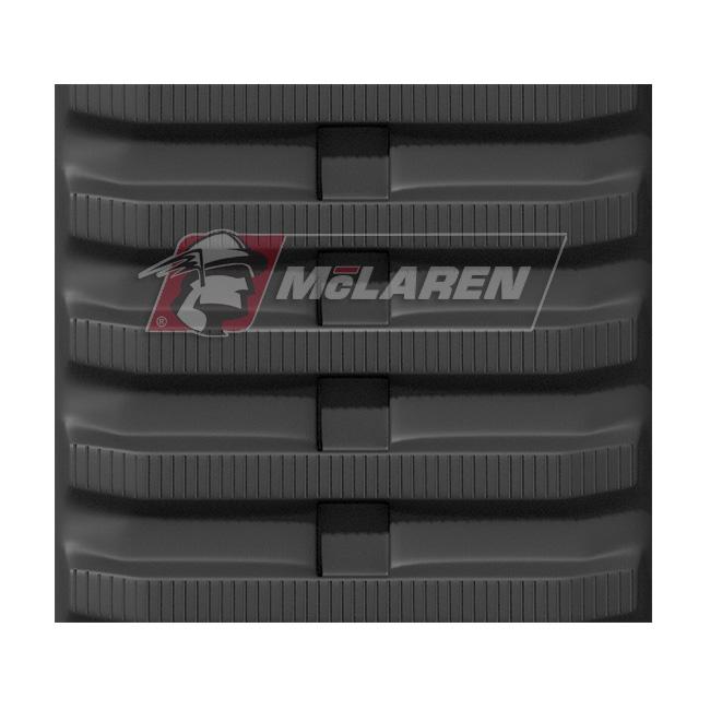 Next Generation rubber tracks for Fiat hitachi CG 45