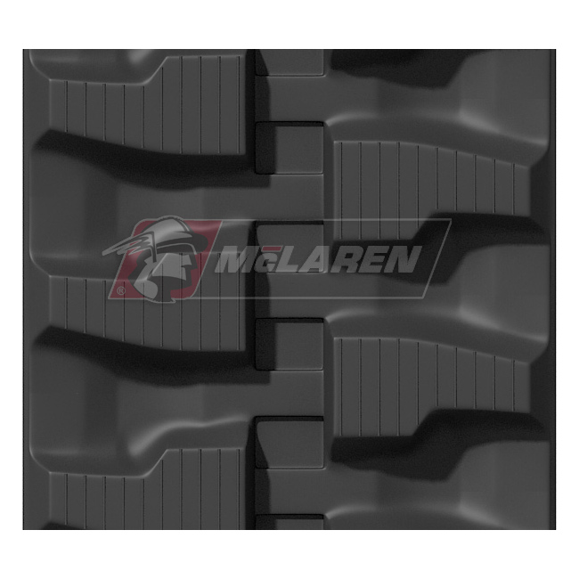 Maximizer rubber tracks for Komatsu PC 27 MR
