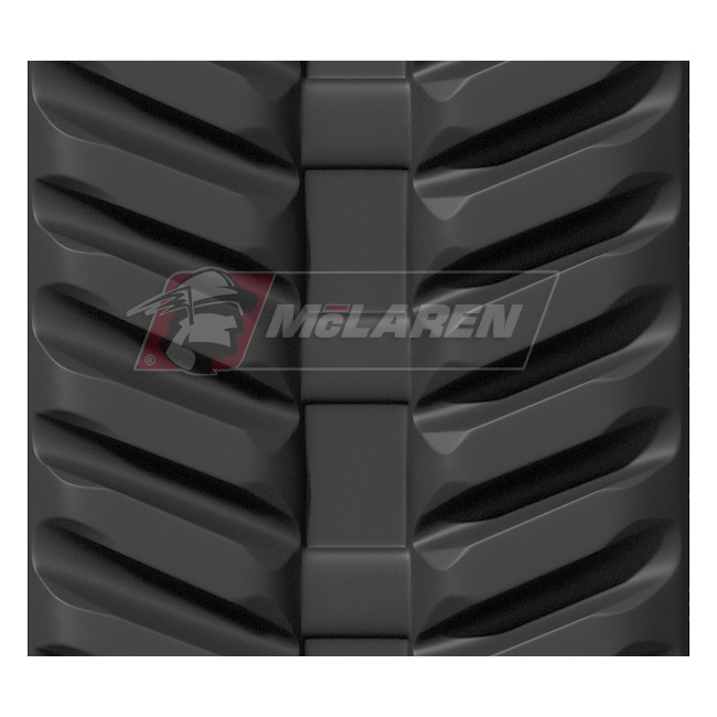 Next Generation rubber tracks for Powerfab 100 X