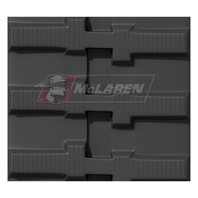 Maximizer rubber tracks for Yanmar B 50-1 PR